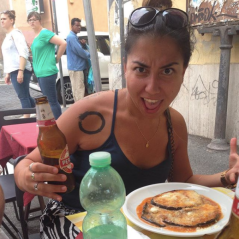 Eating in Rome
